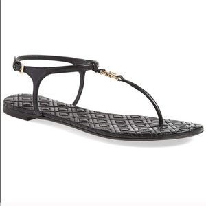 Tory Burch Marion Quilted T Strap Sandal